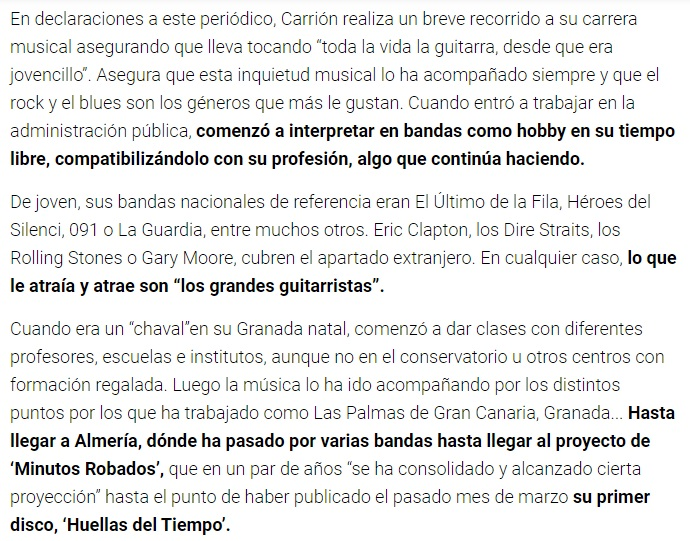 AlmeriRock Diario de Almería